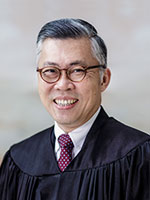 Portrait of Justice Steven Chong, Judge of Appeal