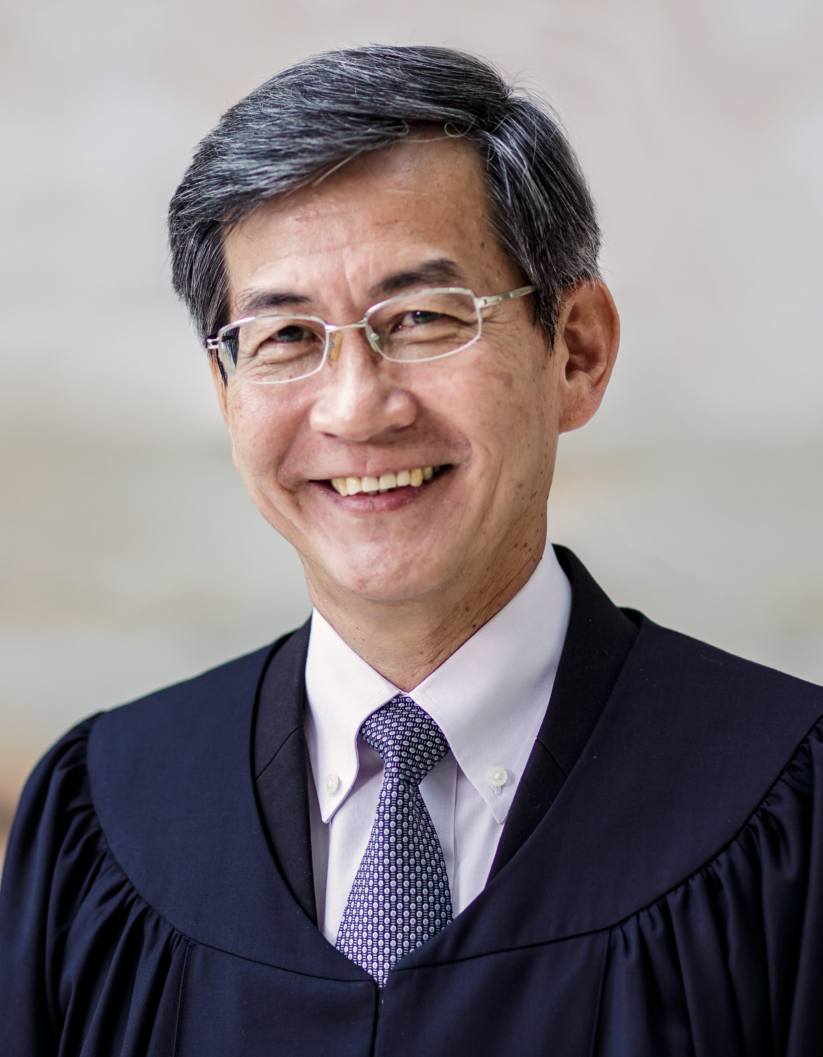 Portrait of Justice Tan Siong Thye, High Court Judge